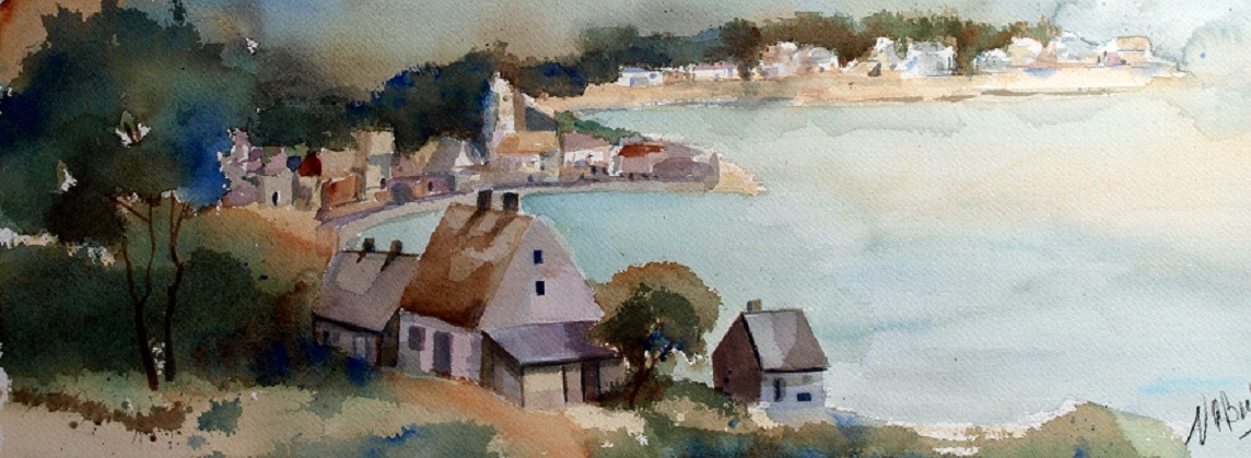 Plein air watercolor painting classes