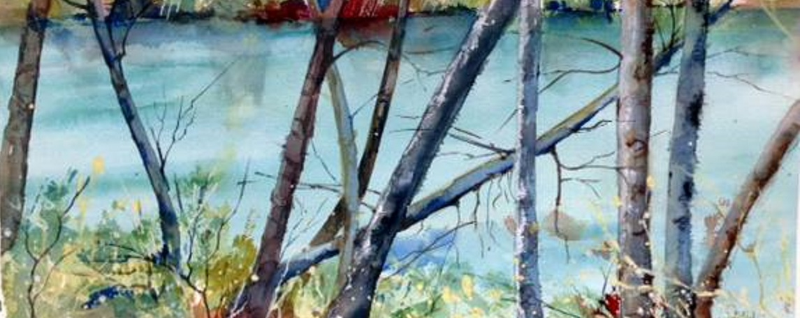 Watercolor Painting Classes (art supplies & lunch included)