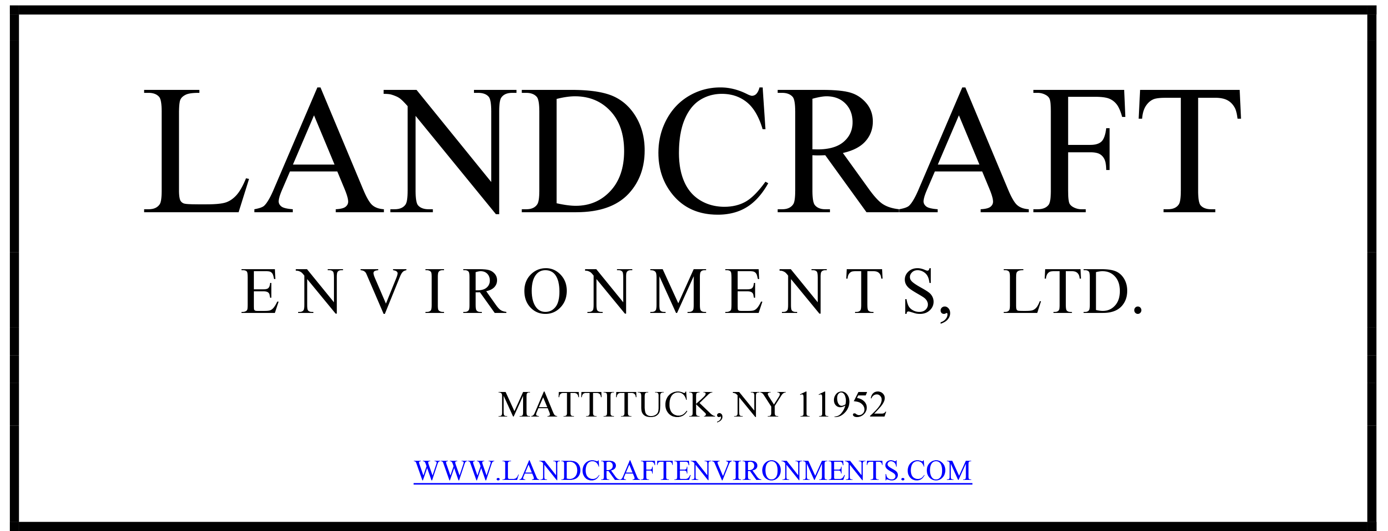 Landcraft Environments LTD Logo