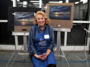 Photograph of artist Donna Moraff