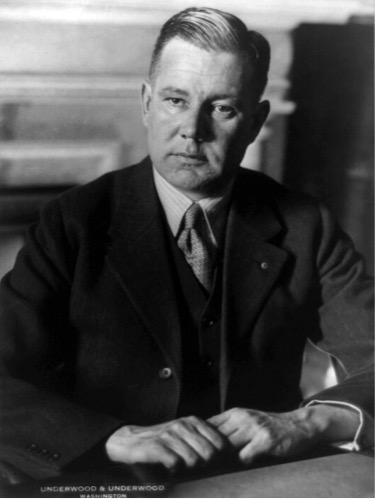 Black and white photograph of Bronson Murray Cutting